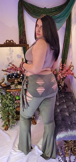 Forest Nymph Vegan Suede Tie Belles