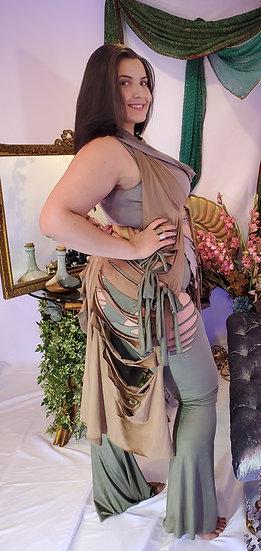Forest Nymph Vegan Suede Tie Belles Set