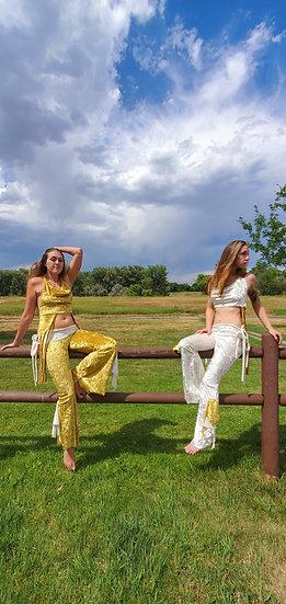 Regal Velvet Tie Belles Sister Set