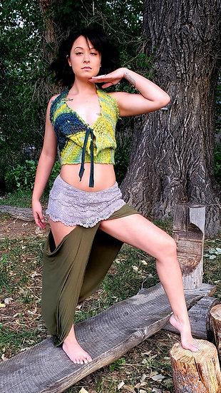 Earth Goddess Tribal Hip Dip Skirt Set