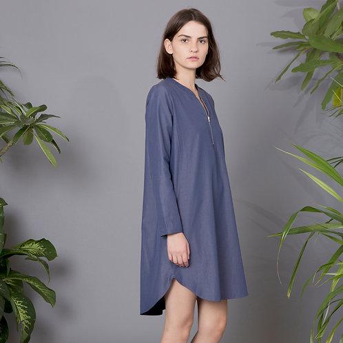 שמלה עם רוכסן - פאולה