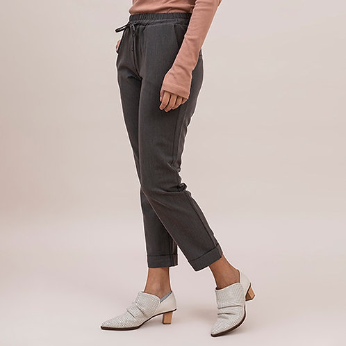 מכנס עם חגורת גומי - פולק