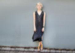 שמלת מקסי בצביעה ידנית - מיכל אמה