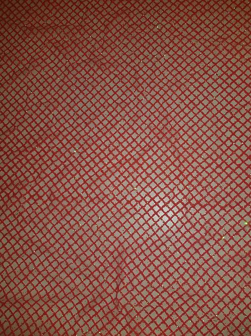 Glitter Powder Hot Pink Net 11956