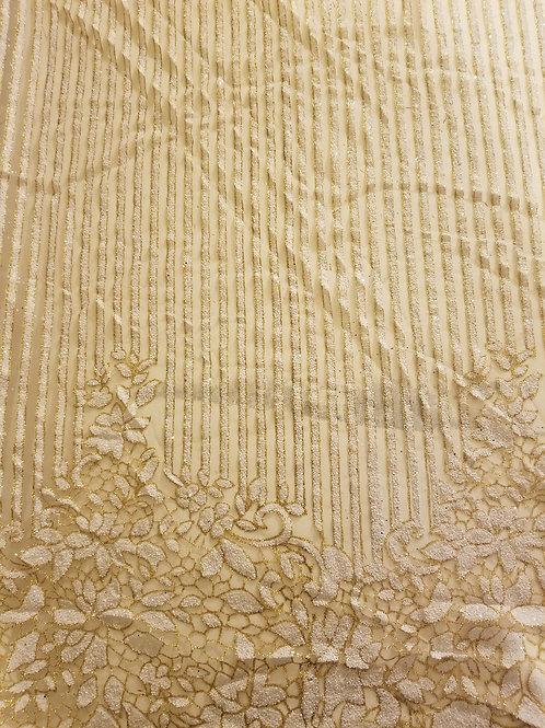 Glitter Powder White Stripe 142310