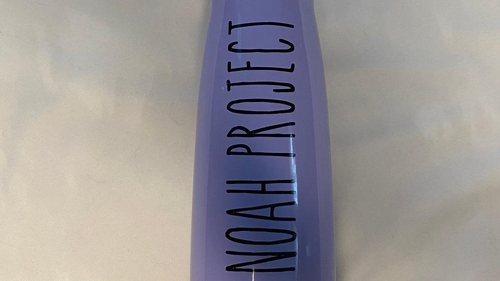 Light Purple Water Bottle
