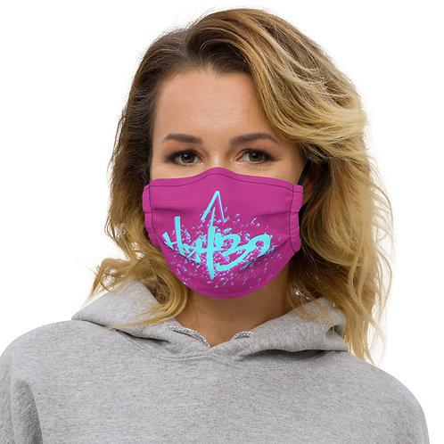 Hz 432 Blue Premium face mask