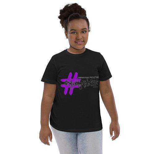 #GetYouACymphaniBeat Youth jersey t-shirt