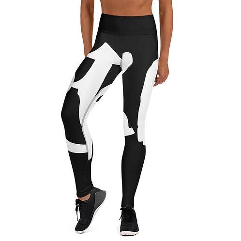 RISE Yoga Leggings (Black)