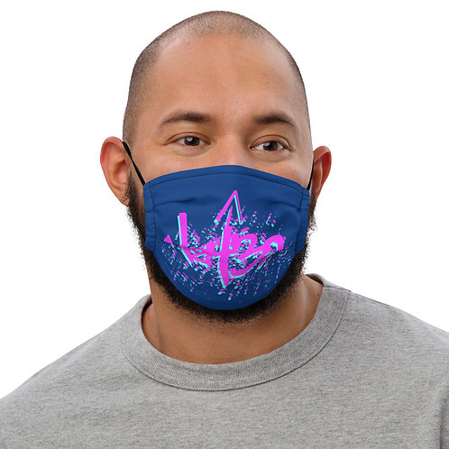 Hz432 Purple Premium face mask