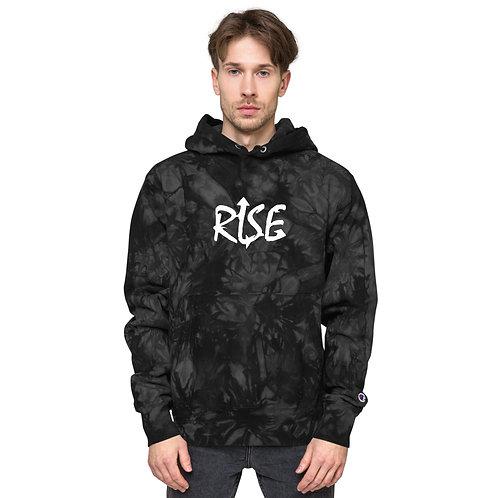 RISE  Champion tie-dye hoodie