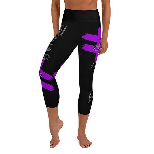 #GetYouACymphaniBeat Yoga Capri Leggings