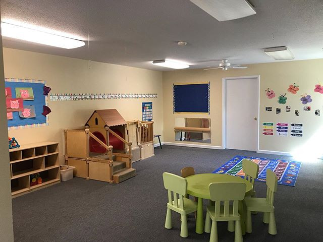 This is our Butterflies classroom for ou