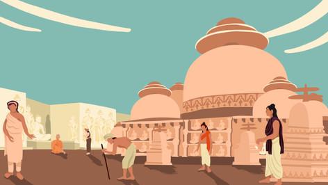 Les monastères bouddhiques oubliés de Haḍḍa
