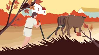 Une année dans les campagnes de Gaule romaine