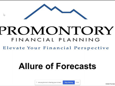 Allure of Forecasts