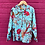 Thumbnail: Kids indian Pjs - Blue with Red Flowers