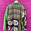Thumbnail: Handmade Reversible Kantha Jacket - Green/Brown