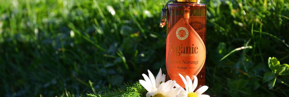 Room freshener Organic Goodness, Nagpuri Narangi Orange, 100ml