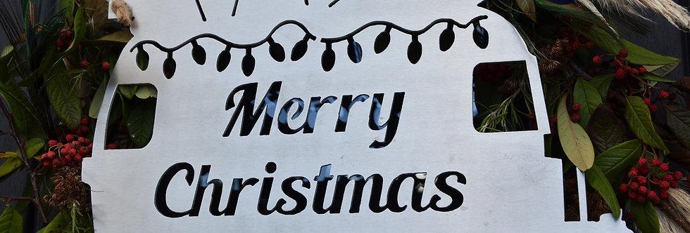 Christmas Airstream Hanging