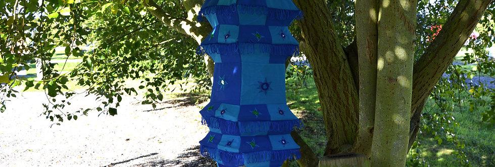 Fabric Lantern - Blue