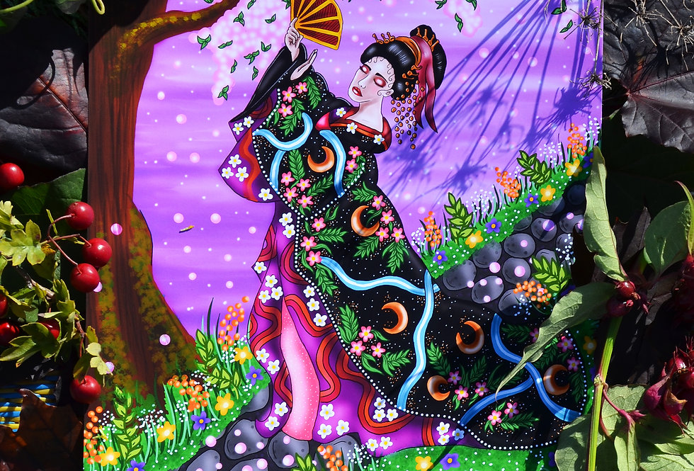 Gesha Art Print