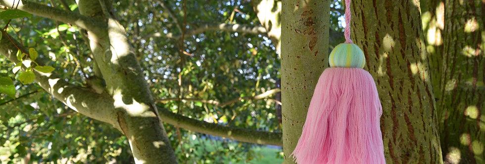 Acrylic Tassel - Pink
