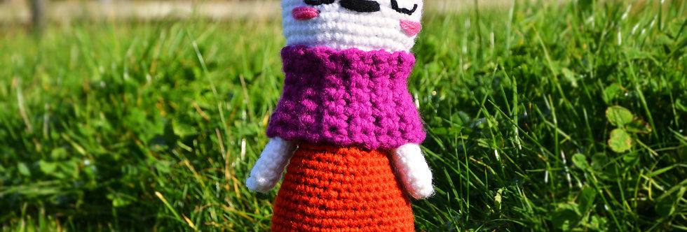 Crochet White Teddy