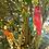 Thumbnail: Handpainted Wooden Parrots