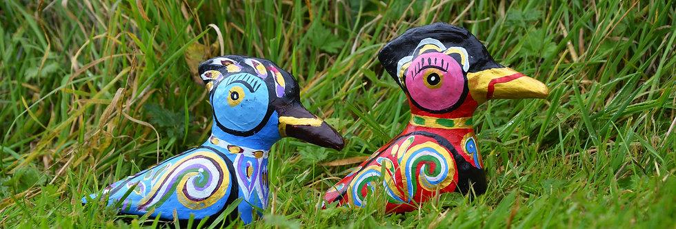 Mowgs Paper Mache Ducks