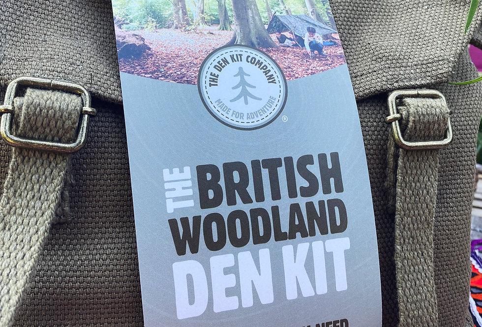 The Den Kit - British Woodland