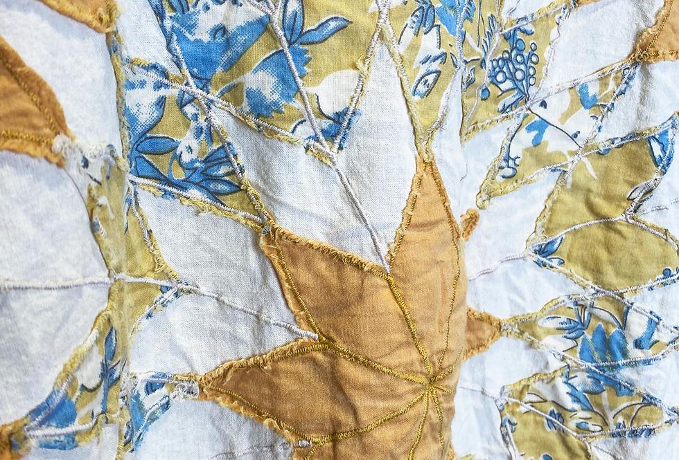Magnolia Pearl - Cotton and Poplin Quilt Work Matilda Top