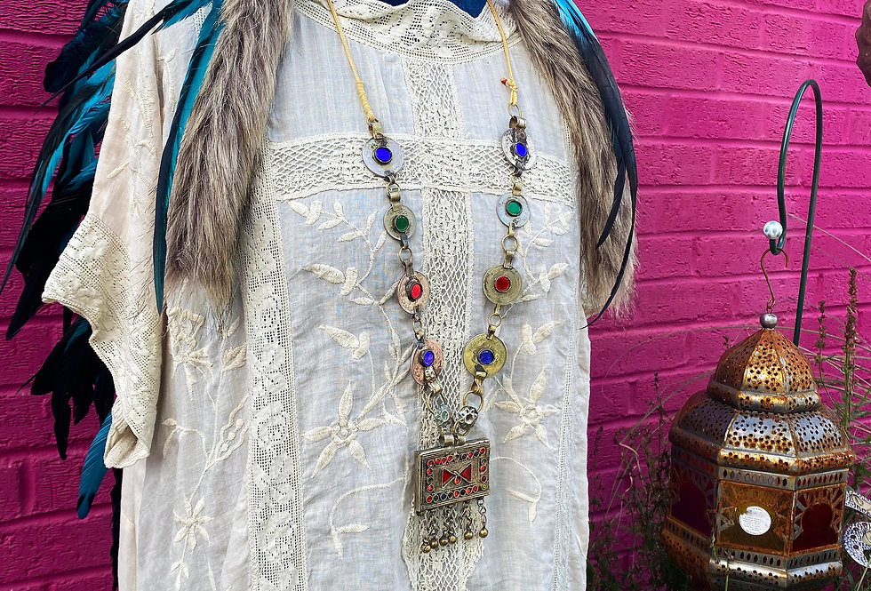 Indian Antique Necklace - Small