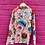 Thumbnail: Kids indian Pjs - Pink with coloured flowers