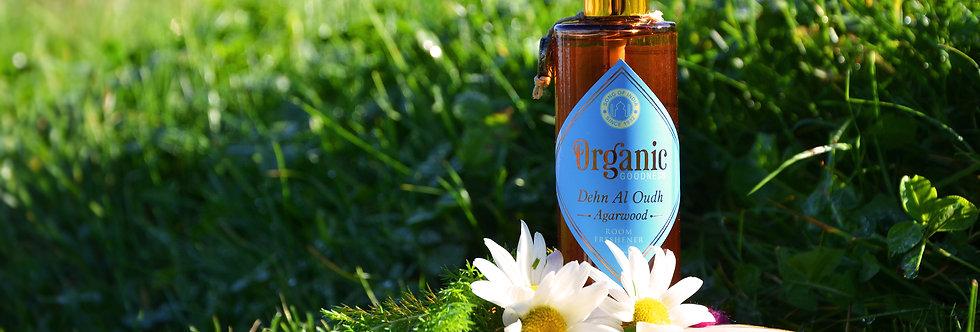Room freshener Organic Goodness, Dehn Al Oudh Agarwood, 100ml
