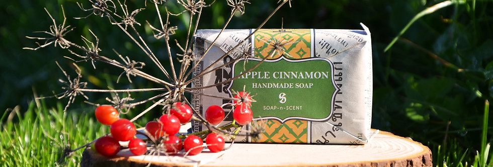 Apple Cinnamon Handmade Soap