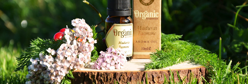Aroma oil Organic Goodness, Madurai Jasmine, 10ml