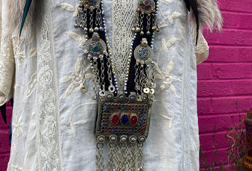 Indian Antique Necklace - Large