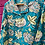 Thumbnail: Kids Indian Pjs - Blue with yellow