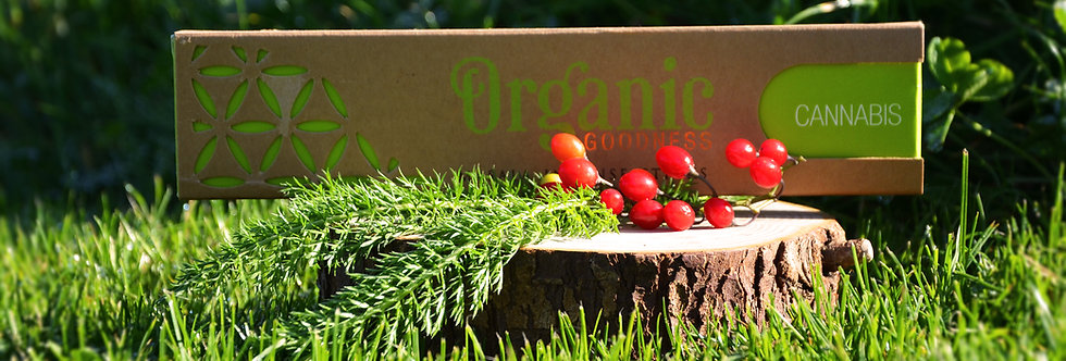 Organic Goodness Masala Sticks - Cannabis