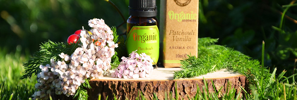 Aroma oil Organic Goodness, Patchouli Vanilla, 10ml