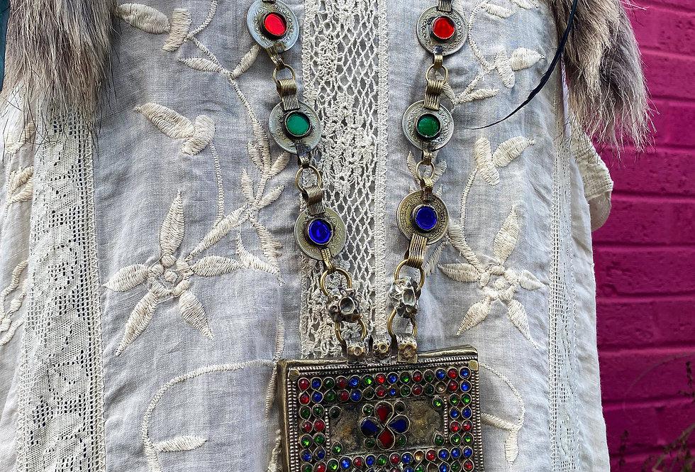 Indian Antique Necklace - Medium