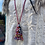 Thumbnail: Fabric indian Necklace