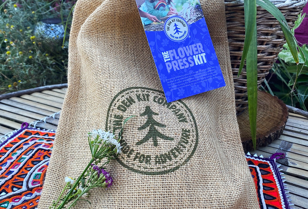 The Den Kit - Flower Press Kit