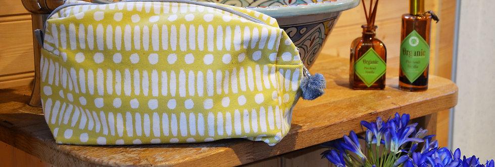 Yellow Wash Bag