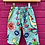 Thumbnail: Kids indian Pjs - Turquoise with coloured print