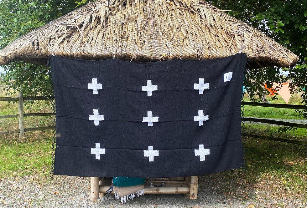 Positive Vibrations Blanket - Black