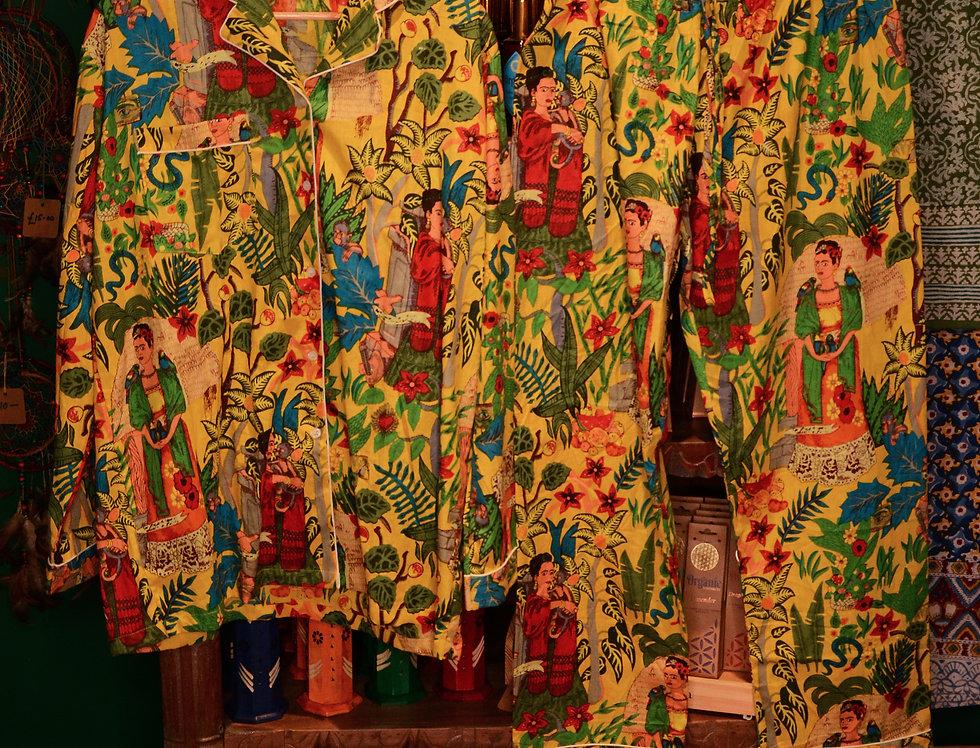 Frida Pyjama Set - Yellow
