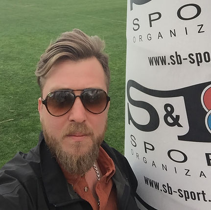 Soner Bicikci Sales and Marketing Executive of S&B Sport Organisation
