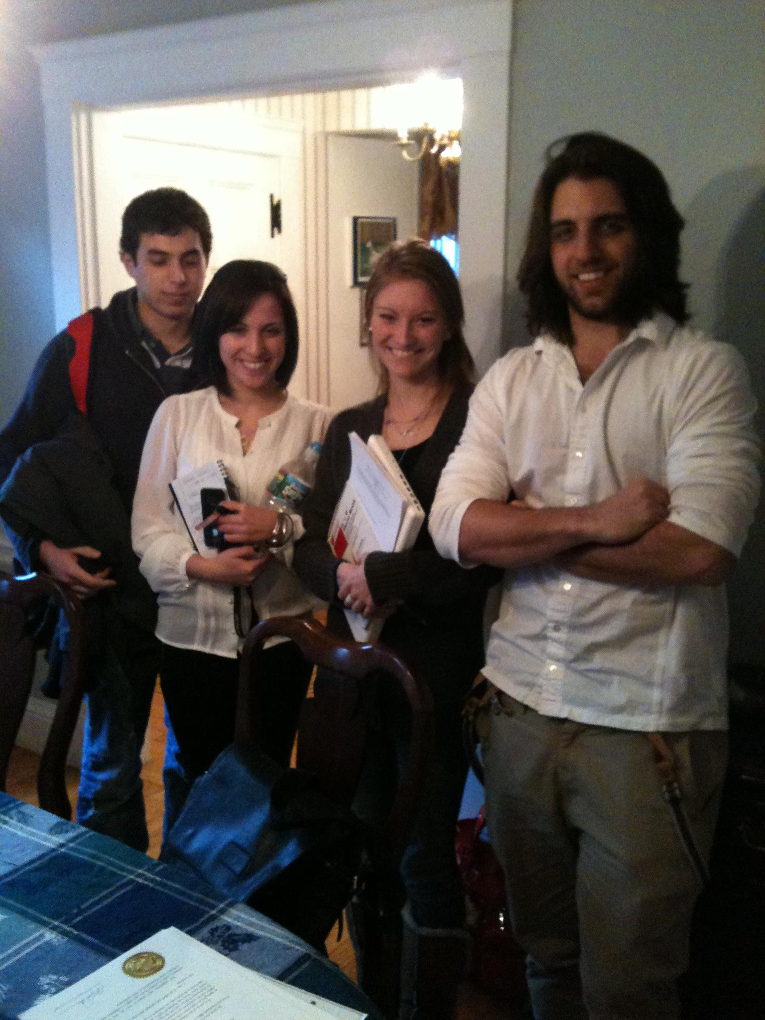 Mentoring NU students